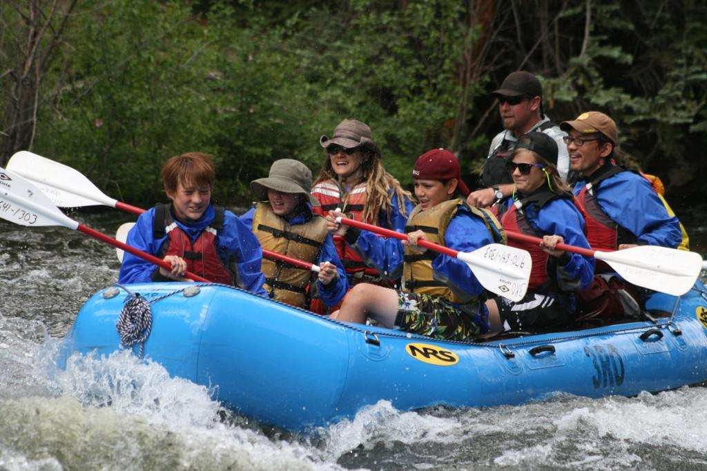 taylor river white water rafting