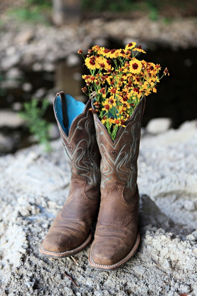 cowboy boots, boots and flowers, boots and rocks, cute women's boots