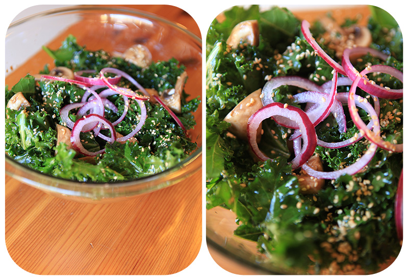 Sesame Kale Salad Recipes — Dishmaps
