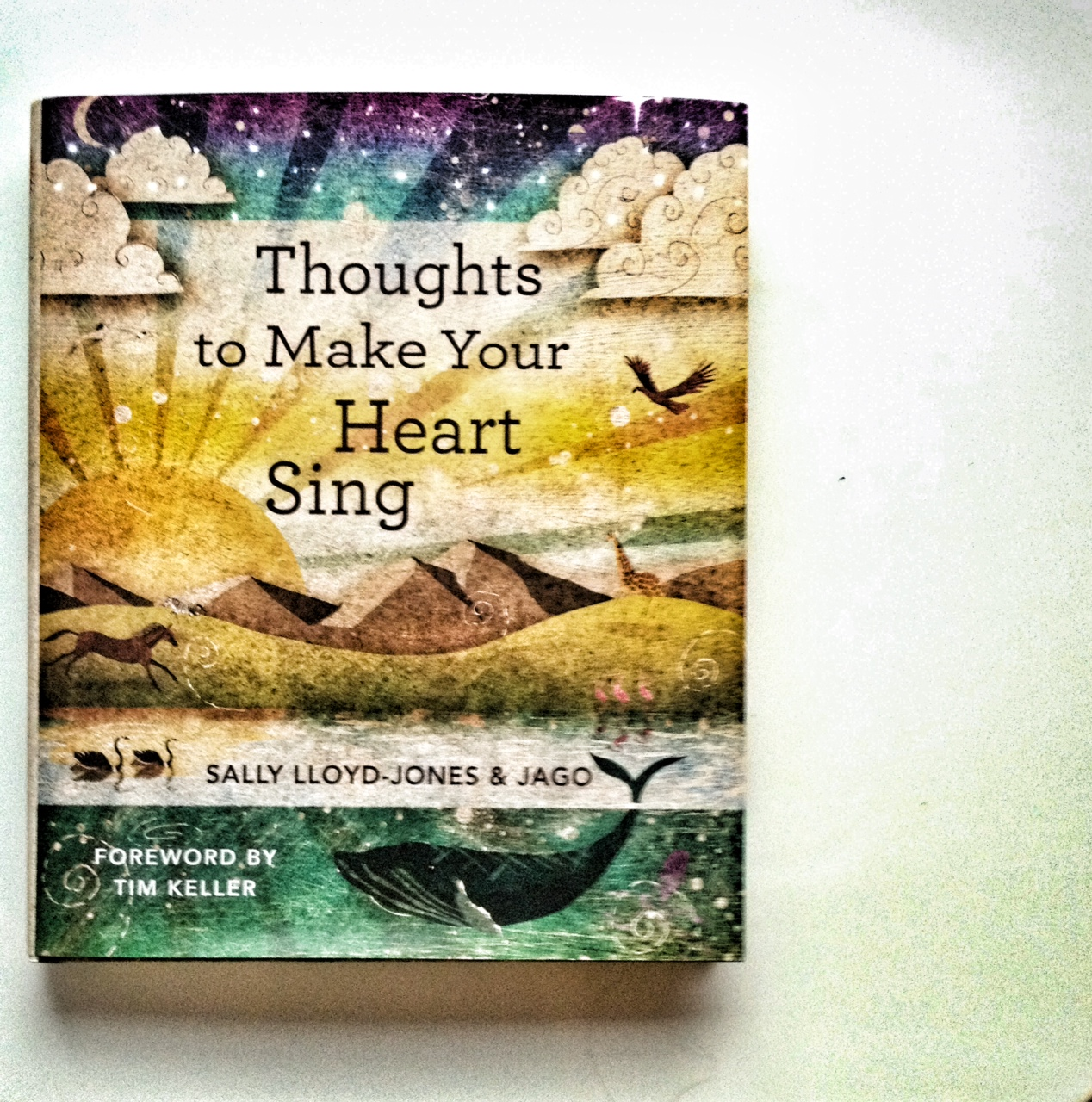 Thoughts to Make Your Heart Sing, Devotional books for children, family devotions, sally lloyd jones, jago