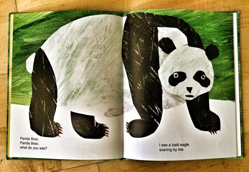 Panda Bear Panda Bear What Do You See? - photo#7