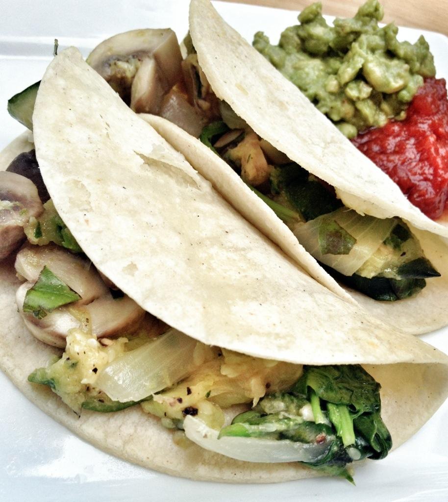 Veggie Tacos, Whats For Dinner, Corn Tortillas, Vegetarian, Gluten Free
