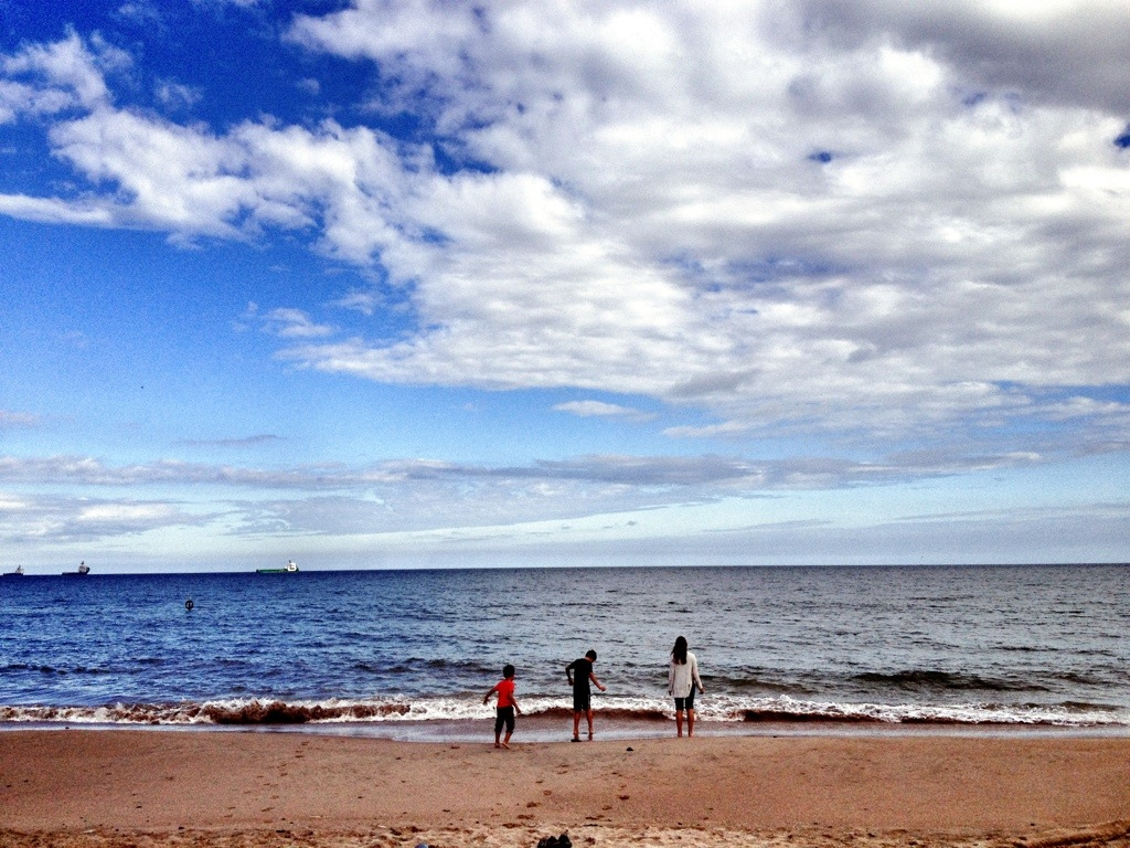 Aberdeen At First Glance, Scotland,Travel With Children, Moving Abroad, The North Sea, Beach