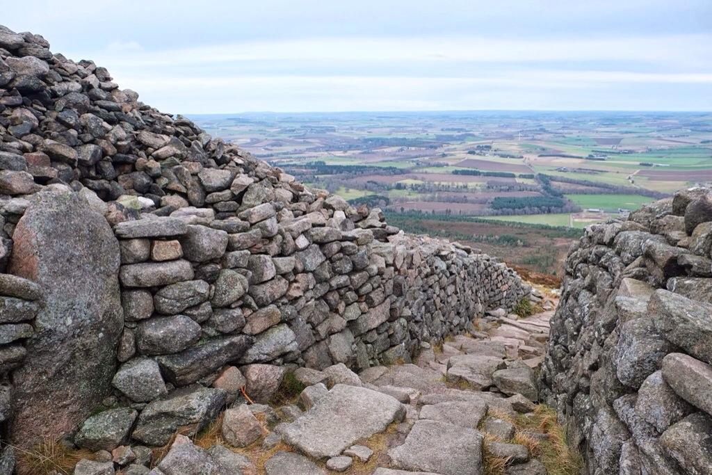 Bennachie in January, #48walks, Scotland, Highlands