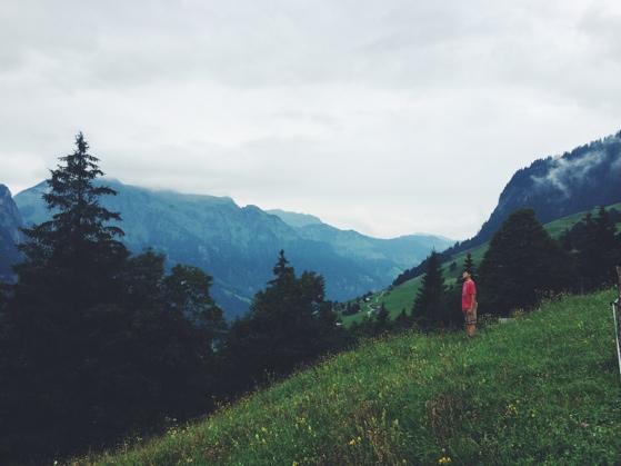Walk to Fluhmatt