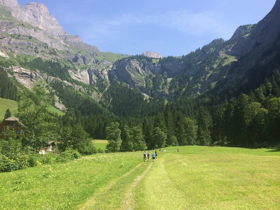 A Walk to the End of the World, Walks in Engelberg Switzerland