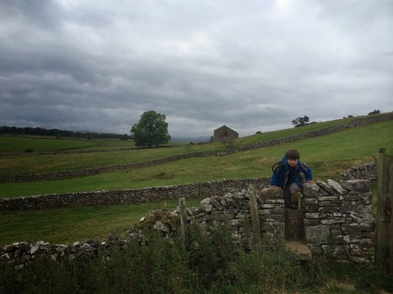Coast to Coast, Yorkshire, Shap to Kirby Stephen, Children Welcome